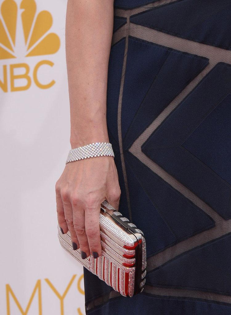 Debra Messing in Chopard Jewelry