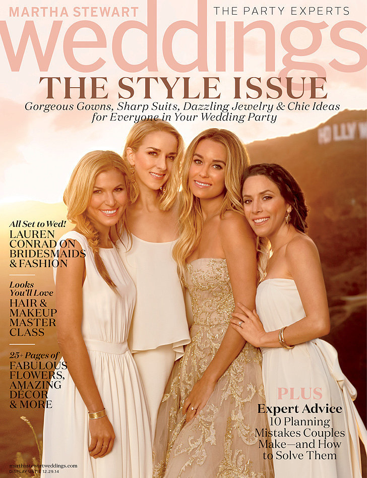 Lauren Conrad's Martha Stewart Weddings Cover