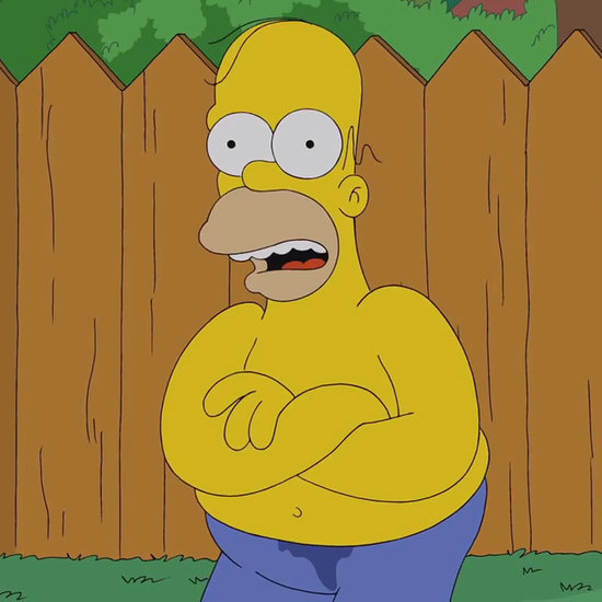Homer Simpson Doing the Ice Bucket Challenge | Video