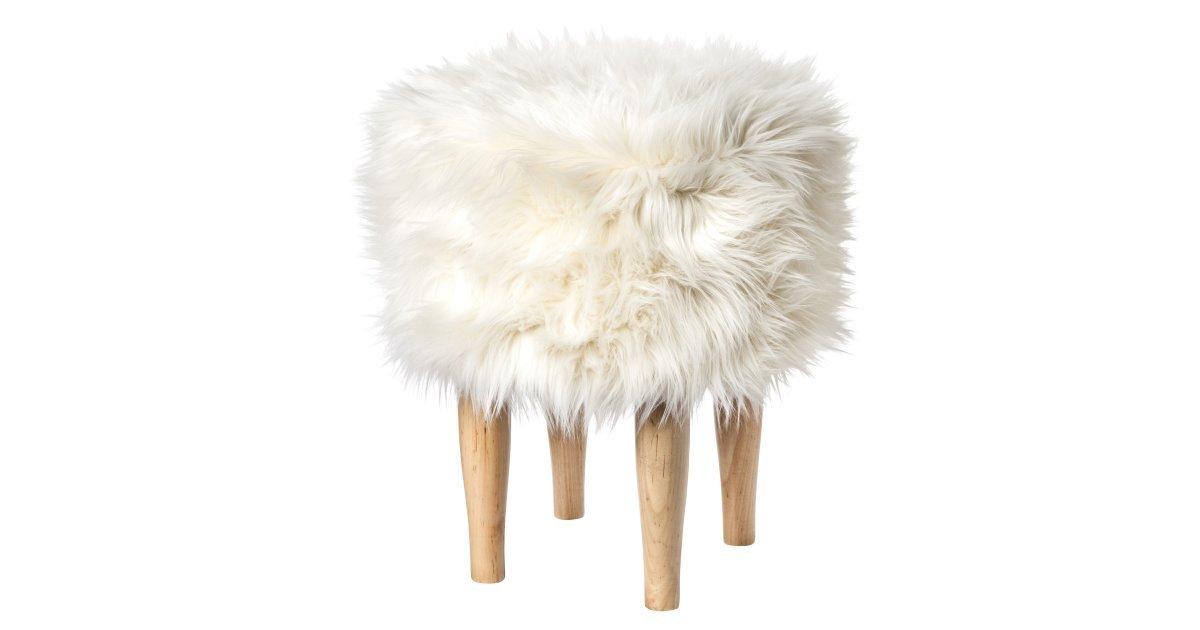 Faux Fur Stool 55 Sneak Peek Nate Berkus S New Fall