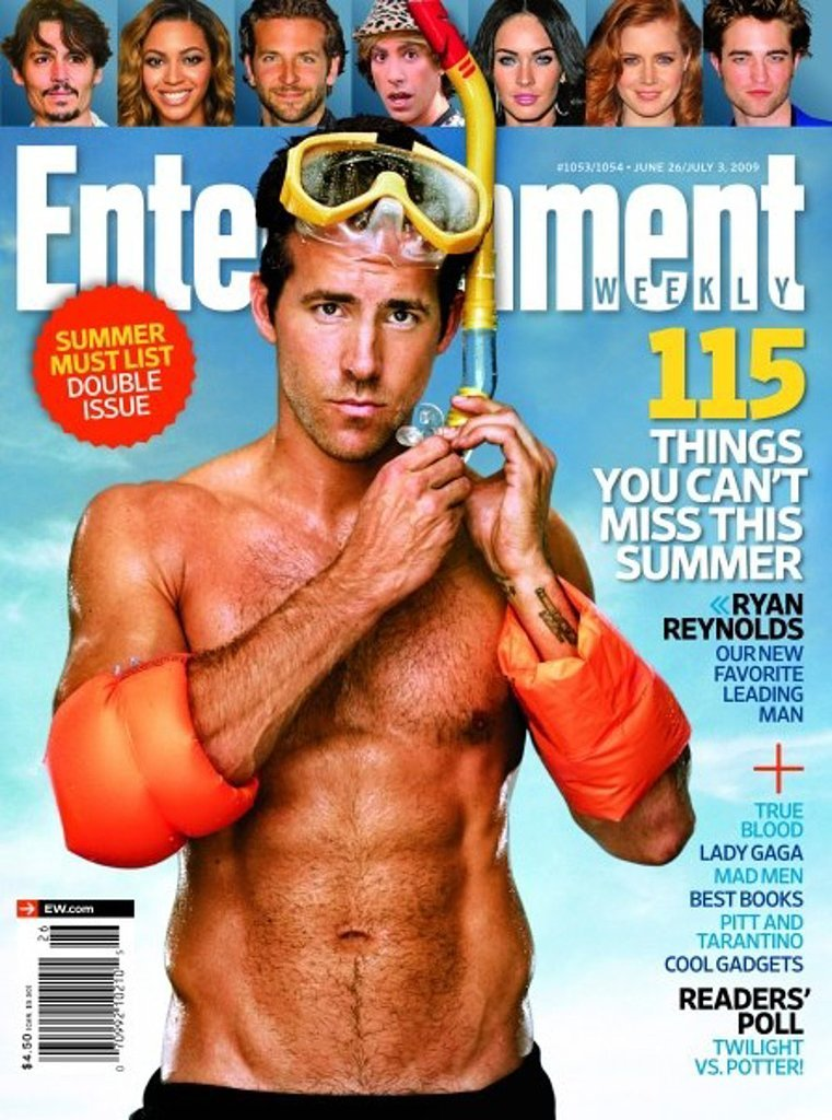 Ryan Reynolds For Entertainment Weekly, June 2011