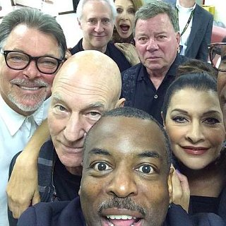 Star Trek Cast Selfie