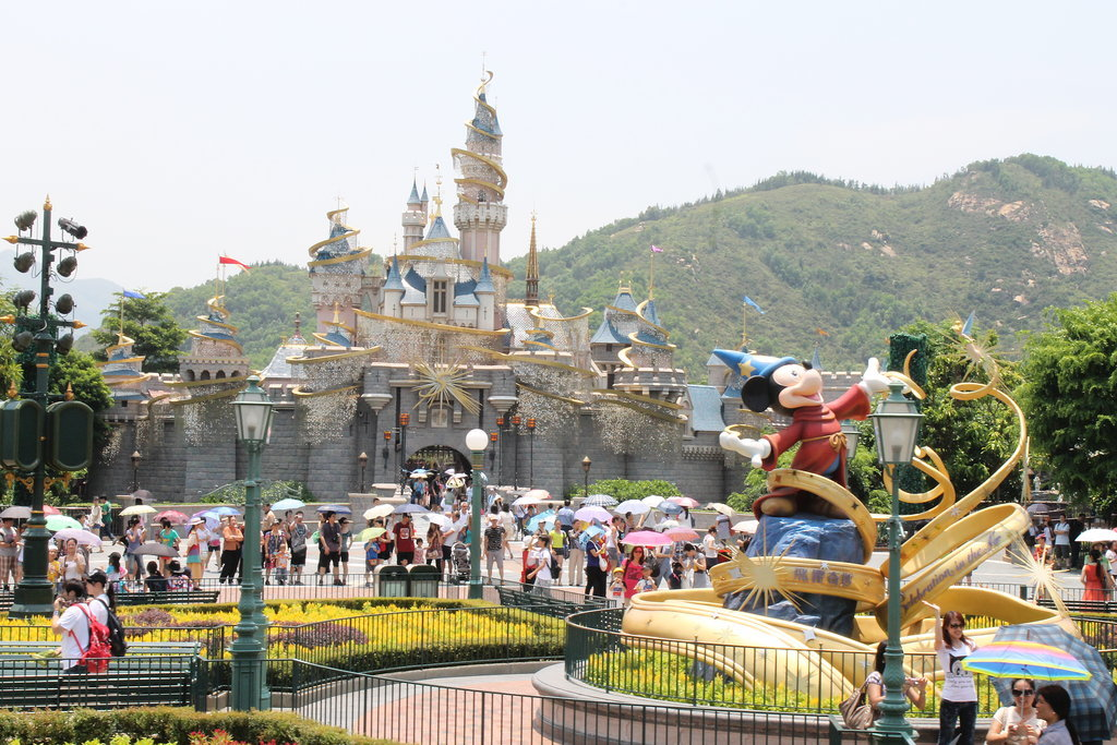 The hills are alive at Hong Kong Disneyland!