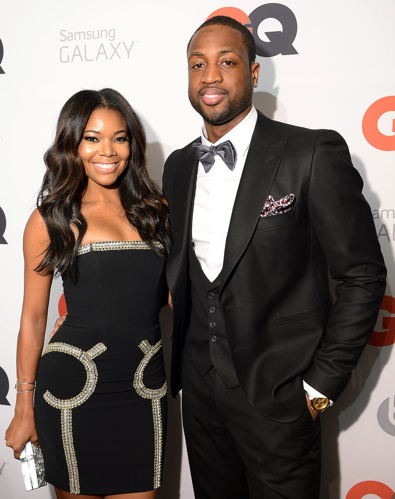 Gabrielle and Dwyane were dressed to the nines for a GQ magazine event in New Orleans in February 2014.