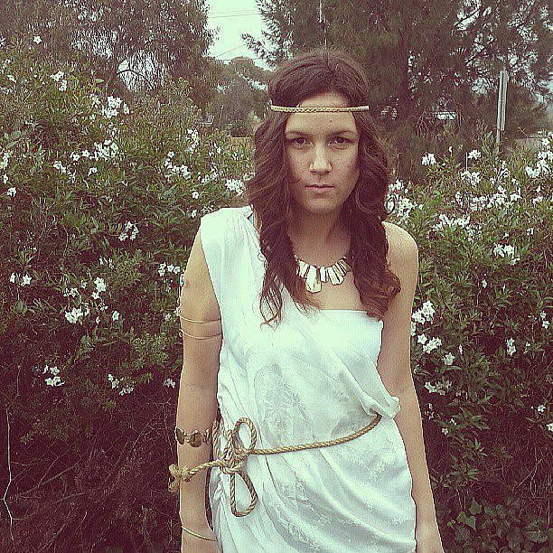 Greek Goddess | 70 Mind-Blowing DIY Halloween Costumes For ...