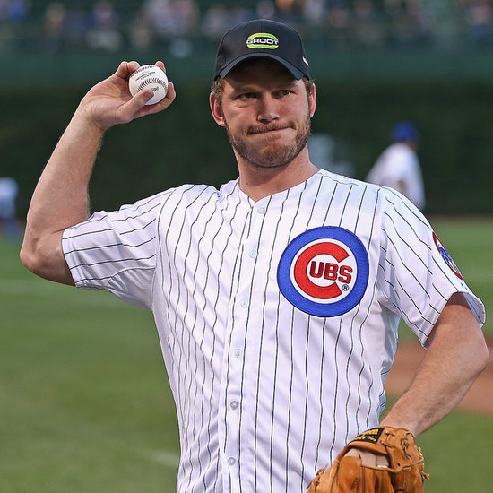 Chris Pratt's First Pitch at Chicago Cubs Game | Video