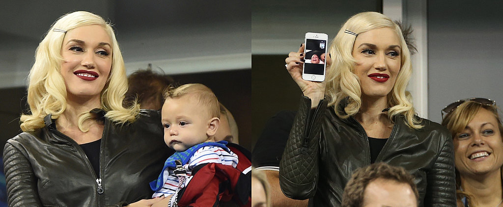 Gwen Stefani Takes Baby Apollo on His First Public Outing