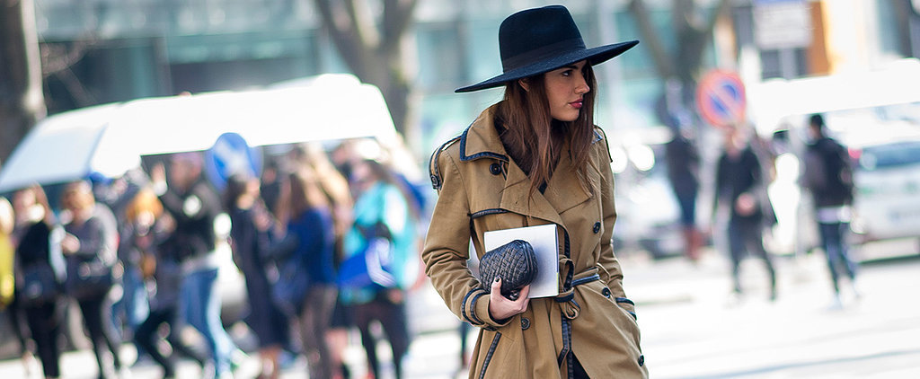 Fall's Wide-Brimmed Fedora Will Make You Look Like an It Girl
