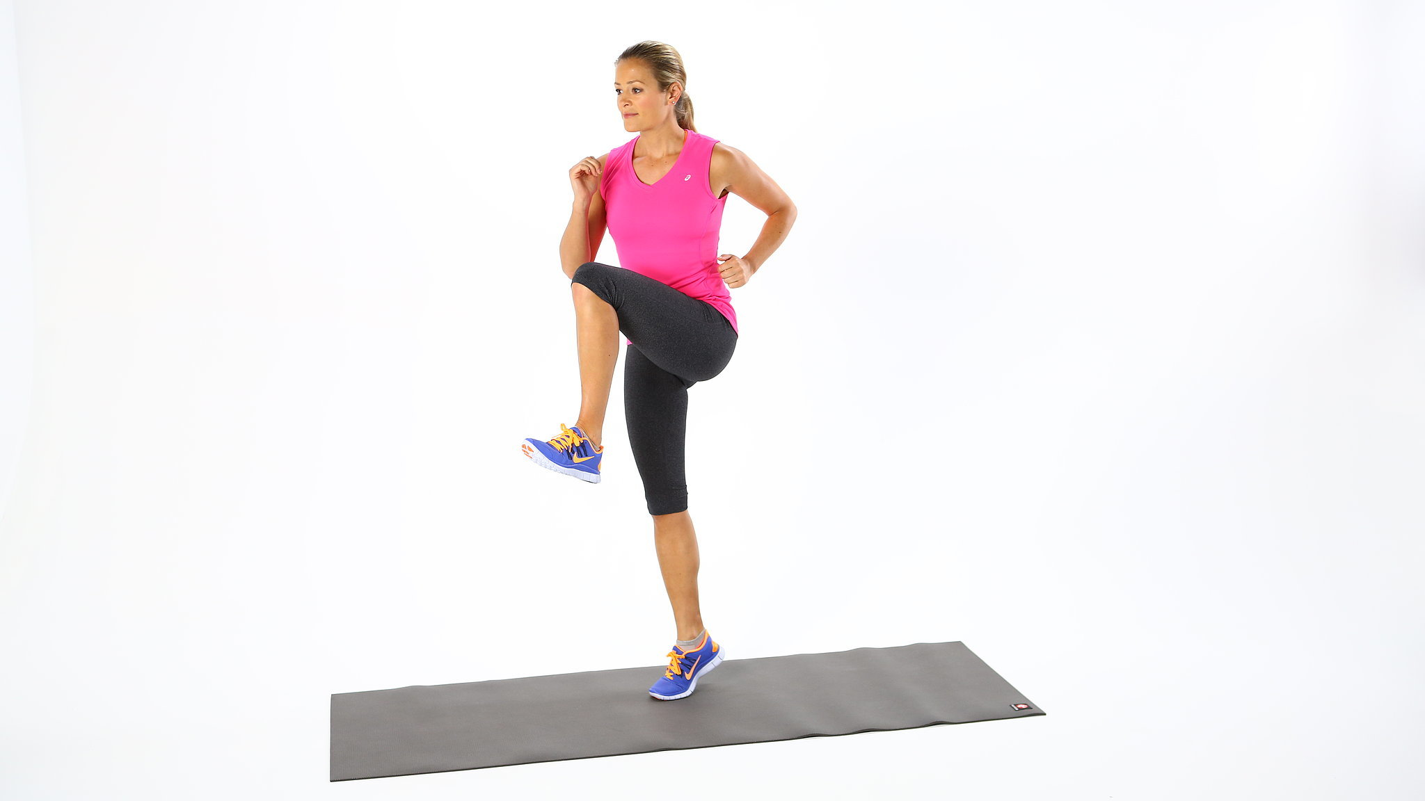 High Knees/Running in Place | This 7-Minute Workout ...