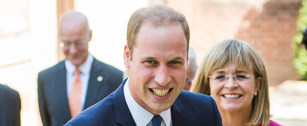 "Prince William Says He's ""Immensely Thrilled"" About New Baby"