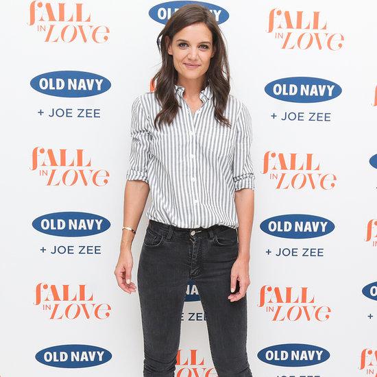 Katie Holmes Talks About Boyfriend Jean Trend | Video