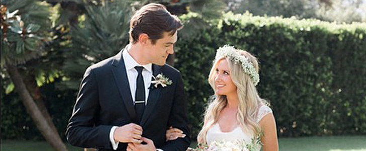 Ashley Tisdale Is Married — See Her Stunning Wedding Snap!