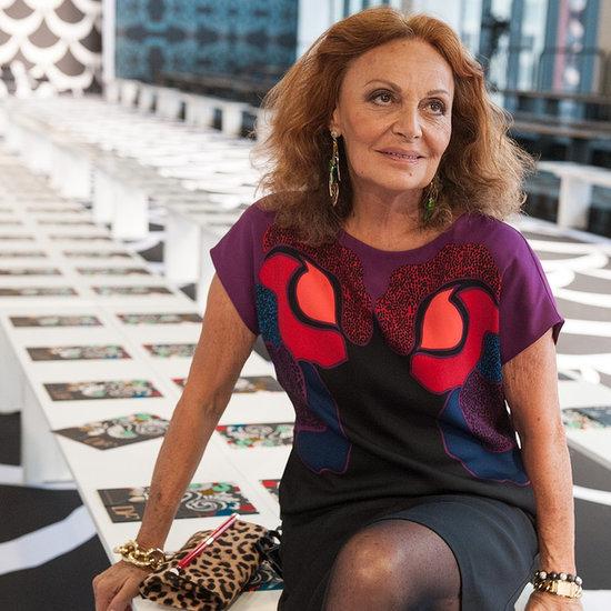 Diane von Furstenberg Interview | Fashion Week Spring 2015