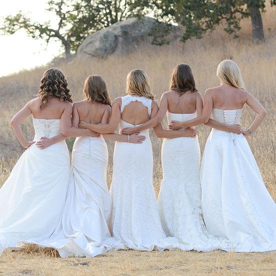 Sister Wedding Dress Photo Shoot
