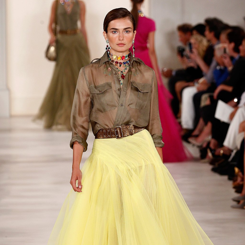 Ralph Lauren Spring 2015 Show | New York Fashion Week