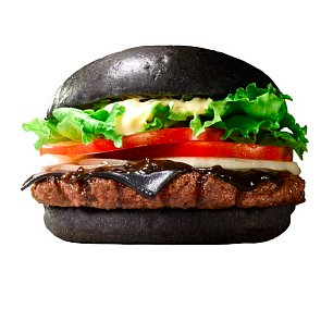 Burger King's Burger With Black Cheese