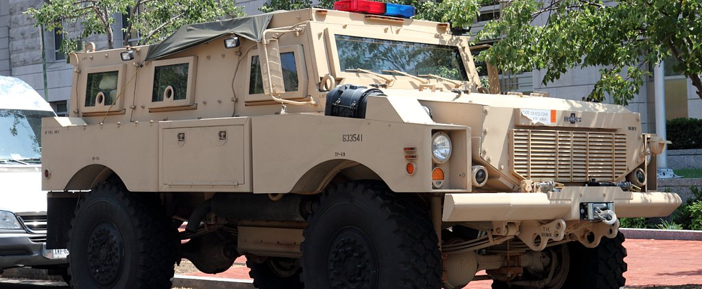 San Diego Unified School District Obtains an MRAP From the Department of Defense