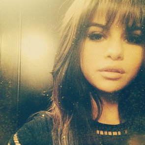 Selena Gomez Cuts Hair Into Blunt Fringe