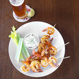 Put a Spin on Game Day With Buffalo Grilled Shrimp