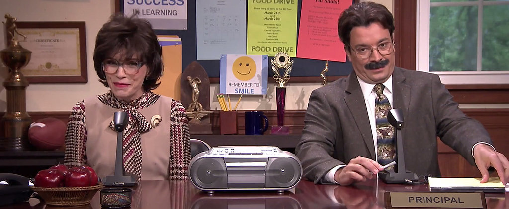 Jimmy Fallon and Julianna Margulies Bring You Musical Morning Announcements