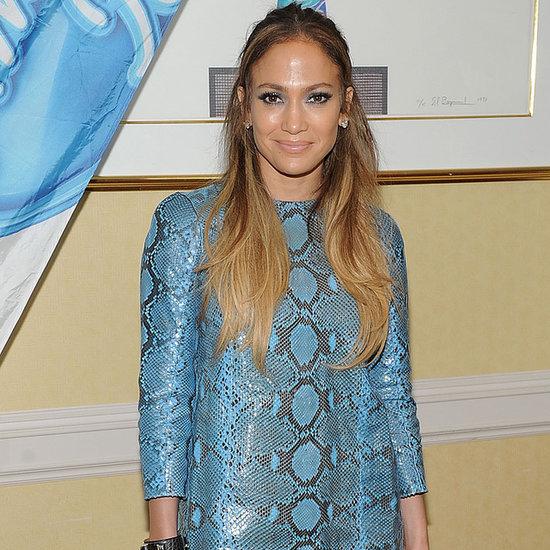 Did Jennifer Lopez Cut Up Her Dress to Make Accessories?