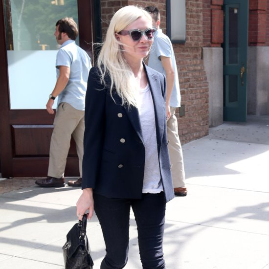 Kirsten Dunst Blazer Street Style