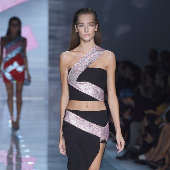 Donatella Versace's Sparkling Runway Shines Bright Like a Diamond