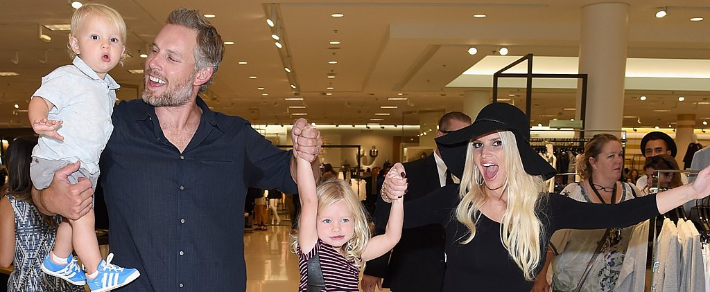 Jessica Simpson and Her Kids Get Ridiculously Adorable at Her Fashion Show