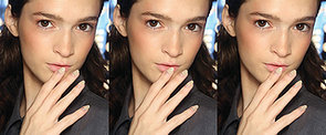 DIY This Neutral Sparkly Nail Art Straight From the Runway