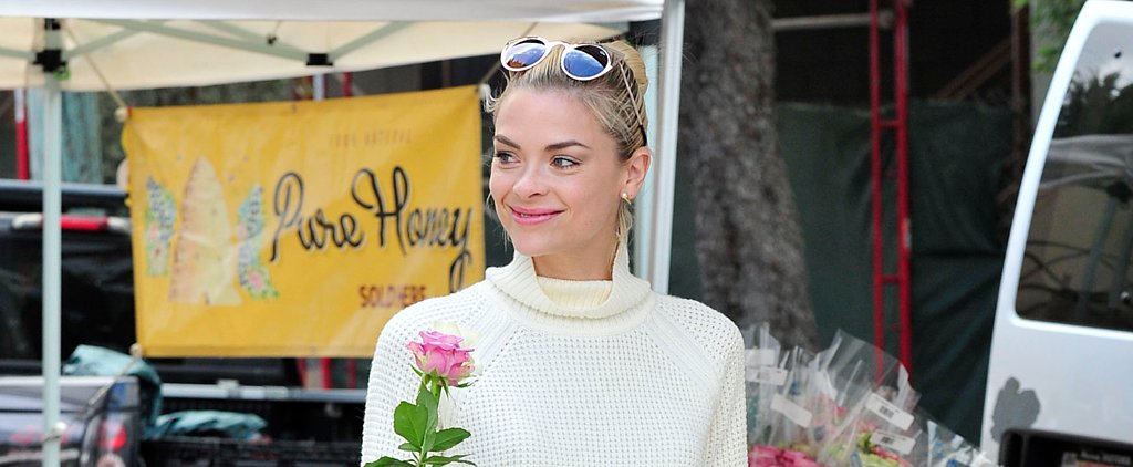 Jaime King Wore Your Complete Fall Look to the Farmers Market