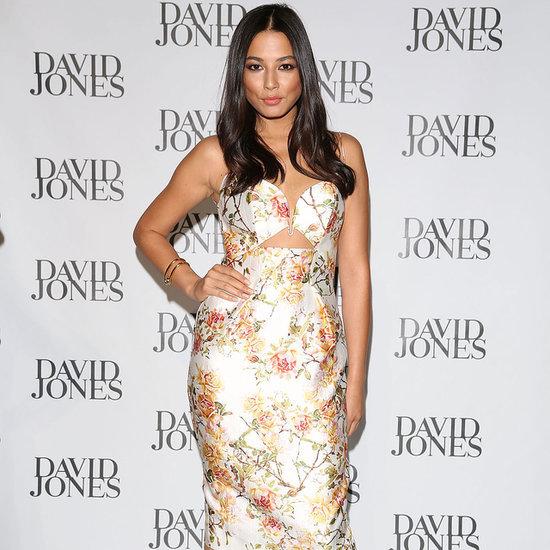 Jessica Gomes Wearing a Zimmermann Dress