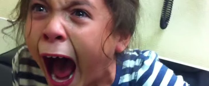 Watch This Little Girl Seriously Freak Out When She Gets Her Flu Shot