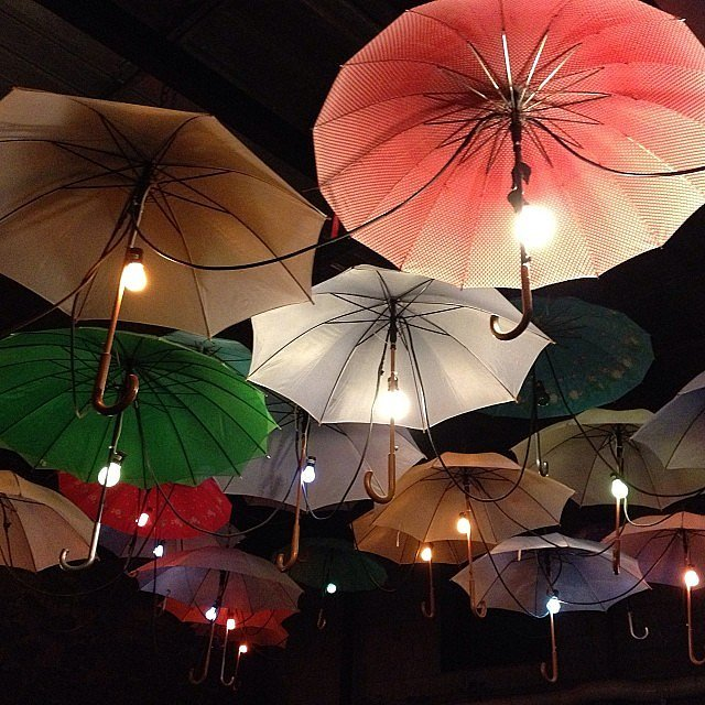 Is There Anything More Whimsical Than Umbrella Lights 9 Unique Ways To Lig