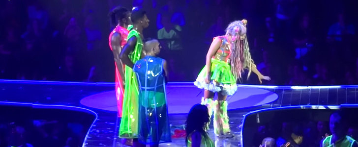 Lady Gaga Breaks Up a Concert Fight With Nothing But Love