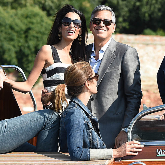 George Clooney And Amal Alamuddin Wedding Guests In Venice