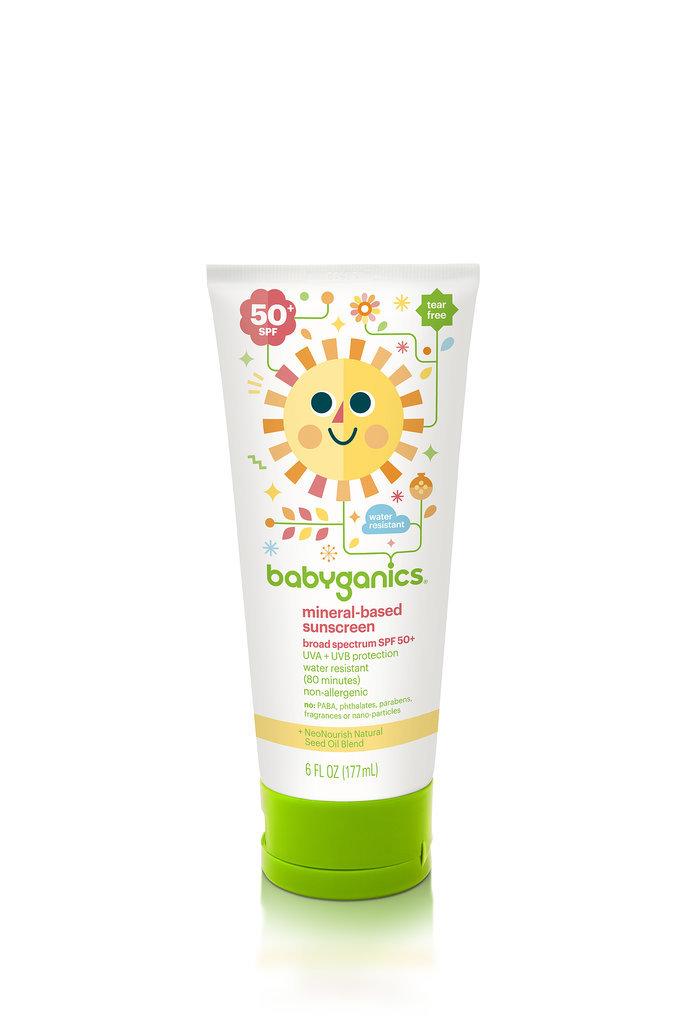 Drugstore Find: Babyganics Mineral-Based Sunscreen, SPF 50+