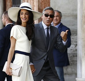 Amal Alamuddin Hair Makeup And Beauty Looks And Products