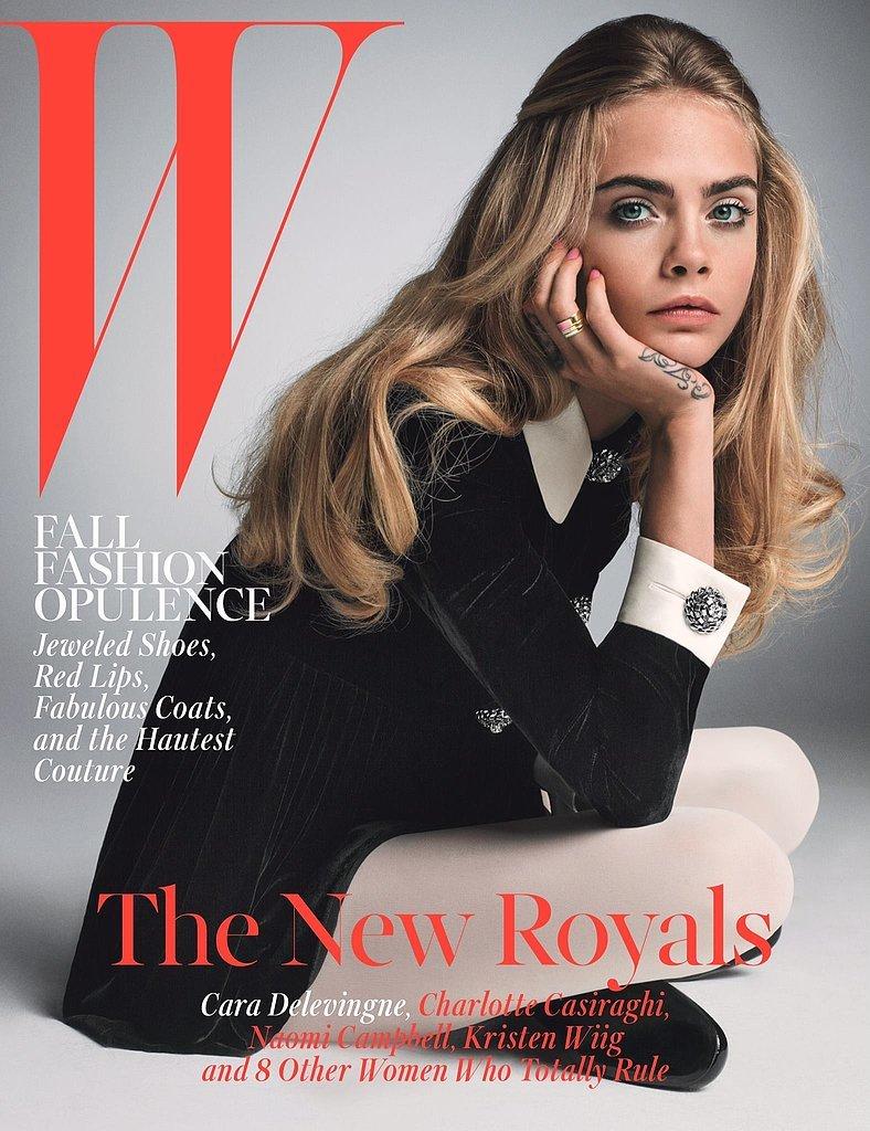 W Magazine October 2014
