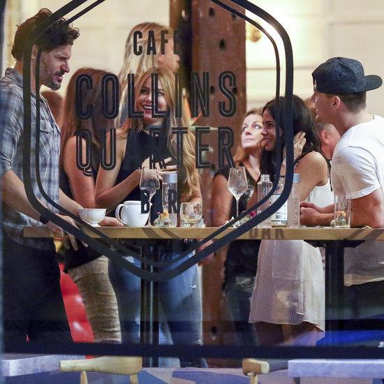 Joe Manganiello and Sofia Vergara With Channing Tatum