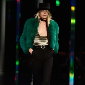 Saint Laurent Spring 2015 Paris Fashion Week Runway