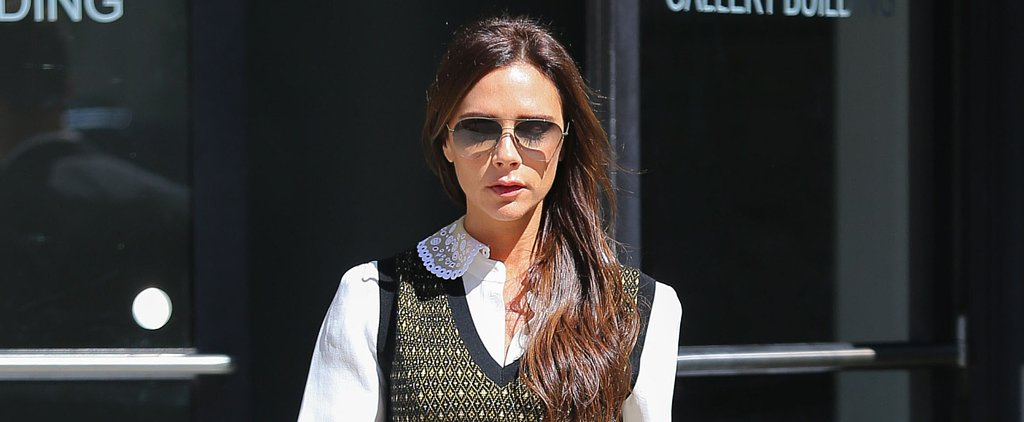 Victoria Beckham Shows Us the Cool-Girl Way to Wear a Sweater-Vest