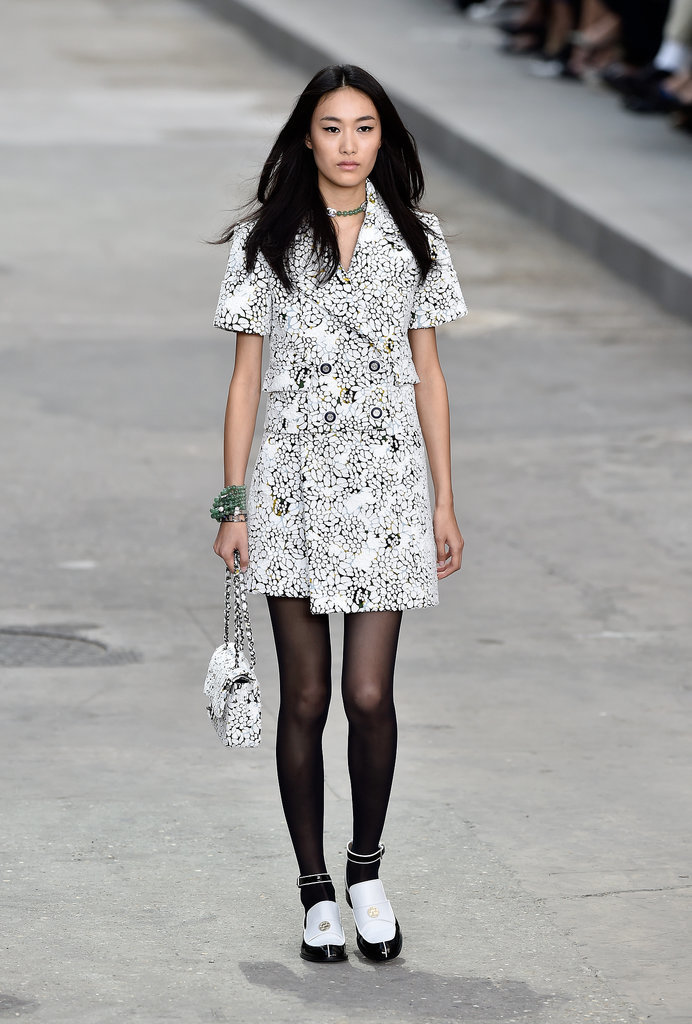 Chanel Spring 2015 Karl Lagerfeld Put Ladies First At A Politically Charged Chanel Show