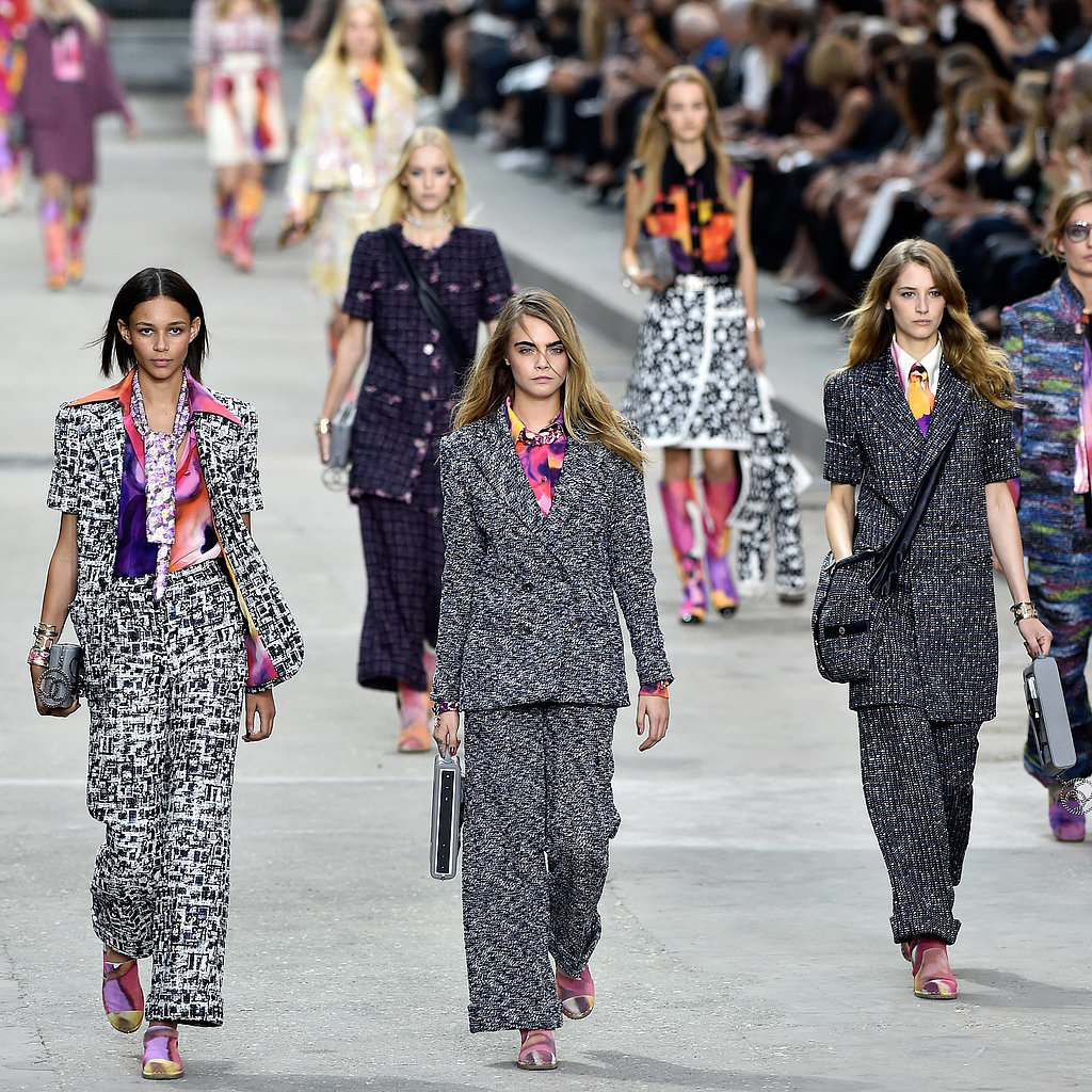 Chanel Fashion Show Spring 2015 Share This Link