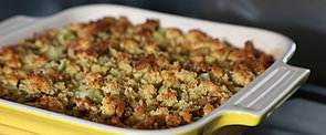 7-Ingredient Cornbread and Bacon Dressing For a Breezy Thanksgiving