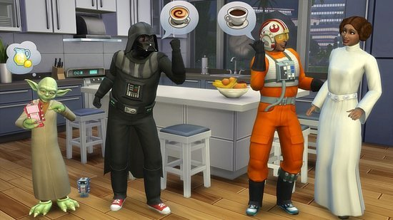 Play The Sims as Star Wars Characters