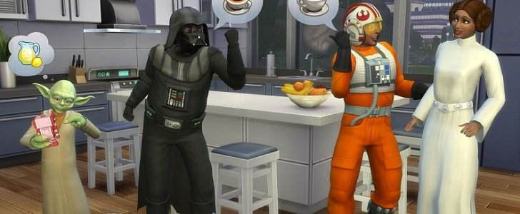 Be Spooky as a Ghost or Wise as a Jedi in Sims 4