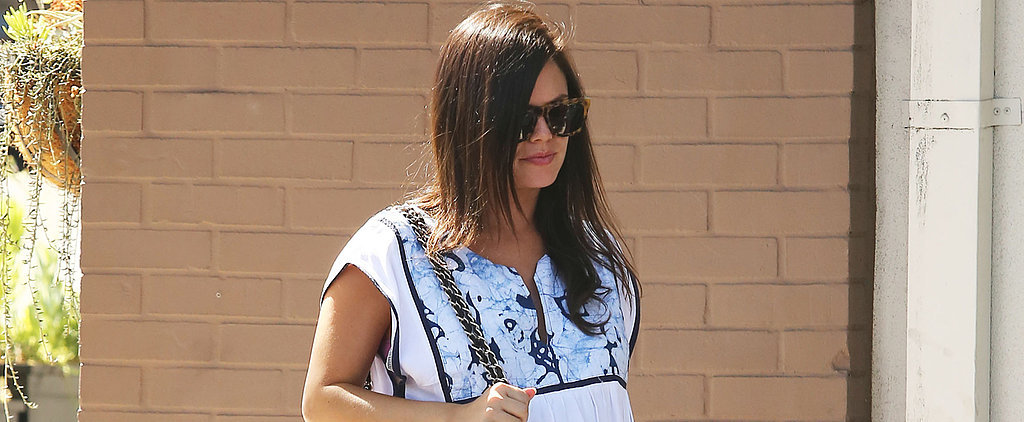 Rachel Bilson's Adorable Bump Is on Display at Lunch
