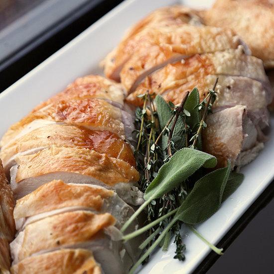 Herb Butter Roast Turkey Recipe Hipster Menu Guy Fieri Food