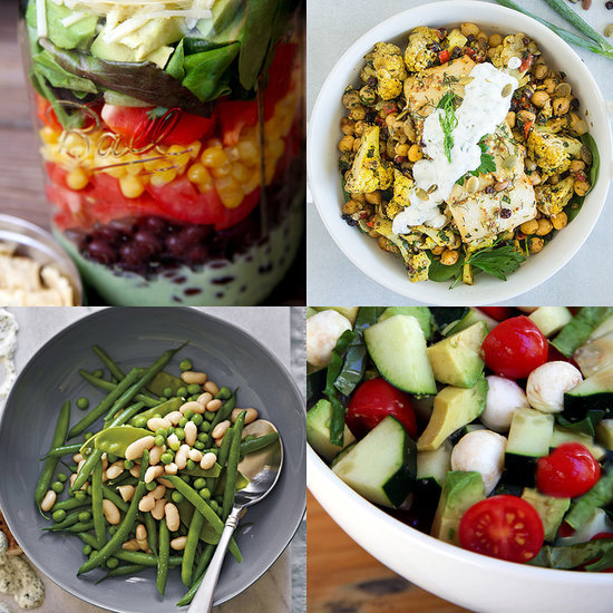 Healthy Low Calorie Spring Salads