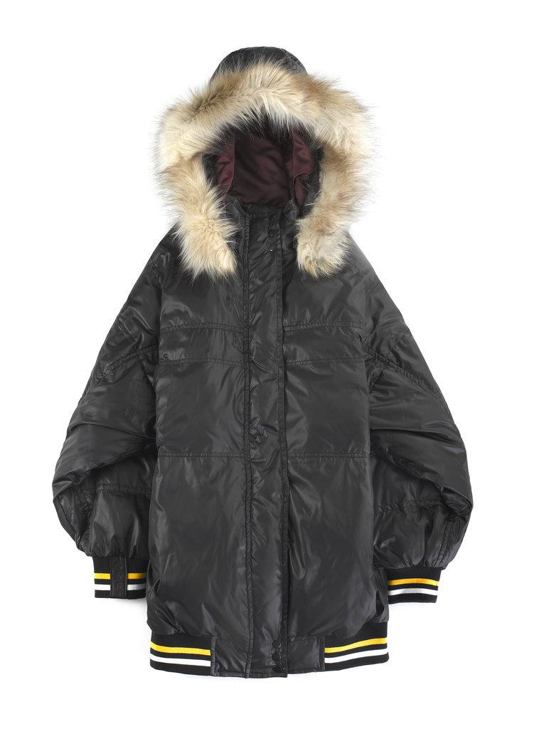 CARAD4DKNY Nylon Puffer Coat